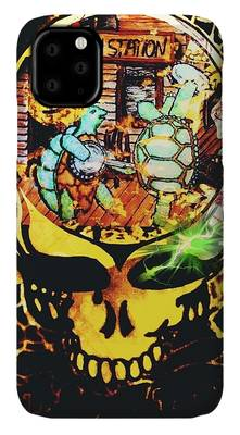 Terrapin Station Mixed Media iPhone Cases