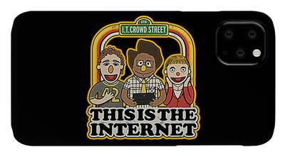 Zelda in the Streets iphone case