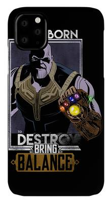 Thanos Rising iphone case