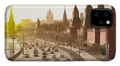 Moscow Kremlin Russia Cityscape iPhone