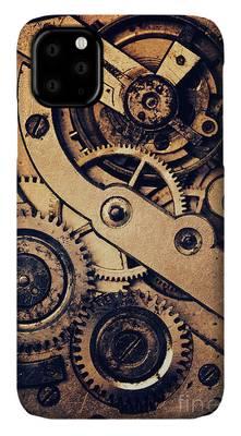 Clock Gear Mechanism iphone case