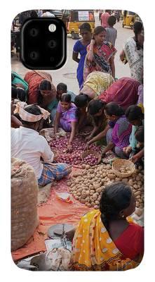 Designs Similar to Indian Women Buying Vegetables
