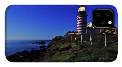 West Quoddy Head Lighthouse Iphone Cases Fine Art America