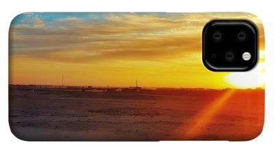 Sunset Landscape iPhone 11 Pro Cases