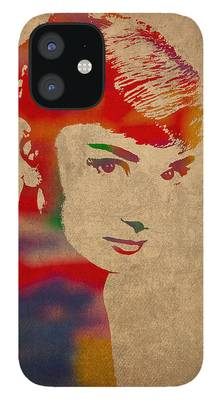 Audrey Hepburn iPhone 12 Cases