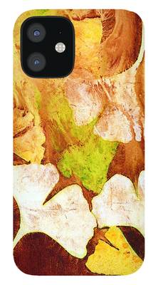Falling Leaves iPhone 12 Cases