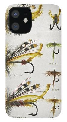 Vintage Fishing iPhone 12 Cases