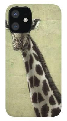 Giraffe iPhone 12 Cases