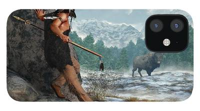 Paleoindian iPhone 12 Cases