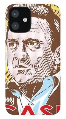 Johnny Cash iPhone 12 Cases