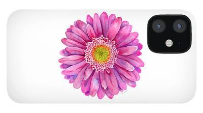 Gerbera iPhone 12 Cases