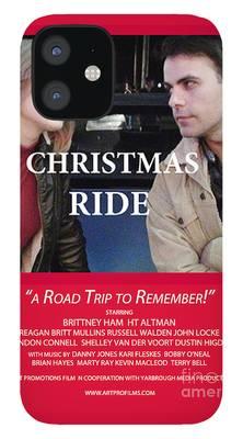Christmas Ride Karen Francis iPhone Cases