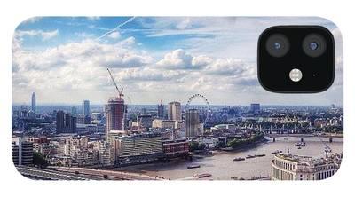 London Skyline iPhone 12 Cases