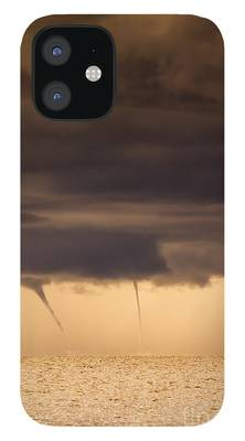 Waterspout iPhone Cases