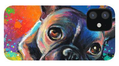 French Bulldog iPhone 12 Cases