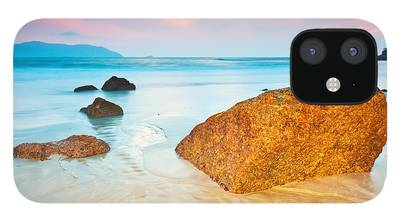 Beach Sunset iPhone 12 Cases