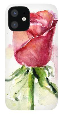 Red Rose iPhone Cases