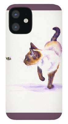 Burmese Cat iPhone 12 Cases