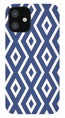 Navy Blue iPhone Cases