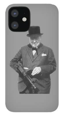 Machine Gun iPhone 12 Cases