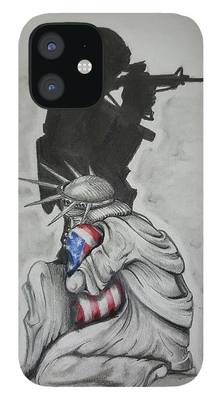 Soldier iPhone 12 Cases