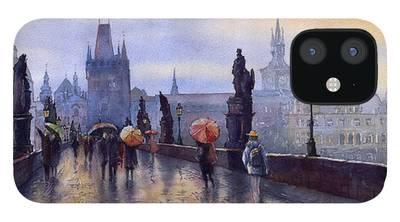 Prague iPhone Cases
