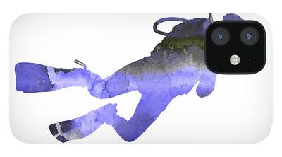 Scuba Diving iPhone 12 Cases