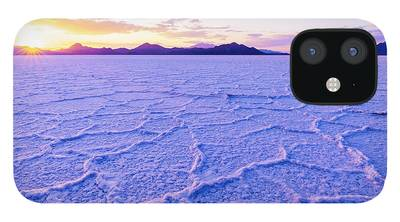 Salt Crystal iPhone 12 Cases