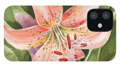 Day Lilies iPhone 12 Cases