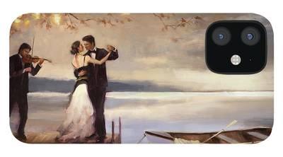 Romantic Music iPhone 12 Cases