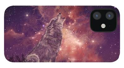 Wolves Howling iPhone Cases