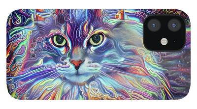 Maine Coon iPhone 12 Cases