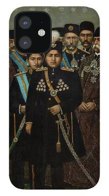 iPhone Case with Shah Qajar Coin design