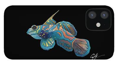 Mandarinfish iPhone 12 Cases