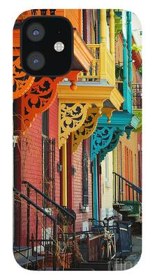 Montreal Streets iPhone 12 Cases