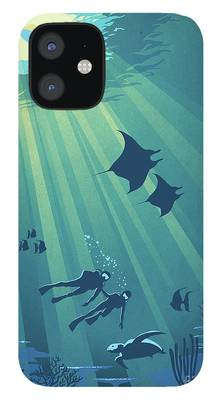 Snorkling iPhone 12 Cases