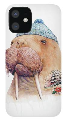 Illustrated iPhone 12 Cases