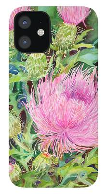 Thistle iPhone Cases