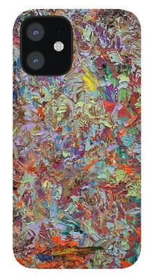 Abstract Expressionism iPhone Cases