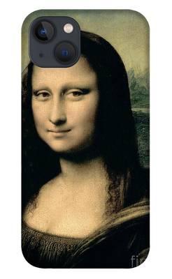 Mona Lisa iPhone Cases