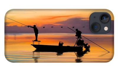 Fishing Boat iPhone Cases