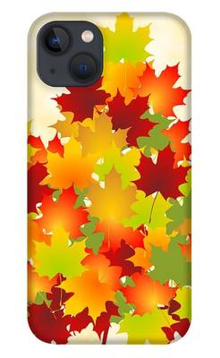 Maple Leaves iPhone Cases