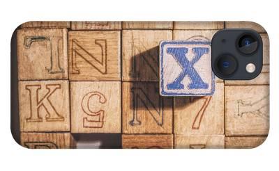 Alphabet Block iPhone Cases