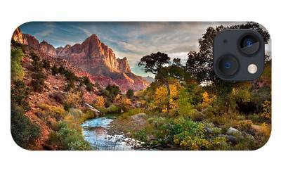 Zion National Park iPhone Cases