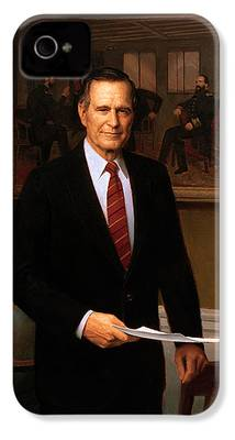 George Bush iPhone 4 Cases