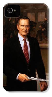 George Bush iPhone 4 Cases