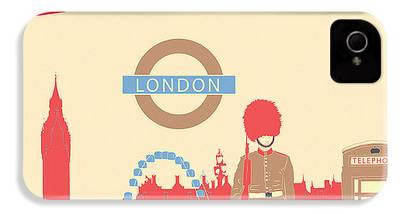 London Tube iPhone 4 Cases