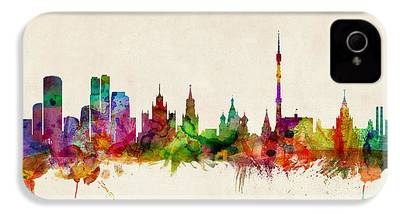 Moscow Skyline iPhone 4 Cases