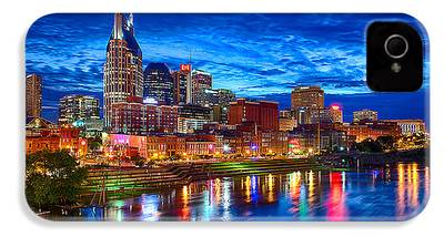 Nashville Skyline iPhone 4 Cases