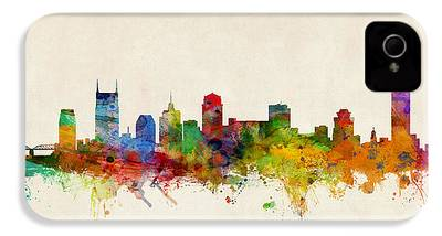Nashville Skyline iPhone 4 Cases